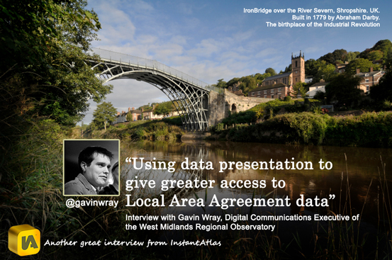 Using data presentation to give greater access to Local Area Agreement data