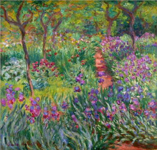 'The Iris Garden at Giverny'
